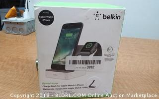 Belkin Power House Charge Dock for Apple Watch + iPhone
