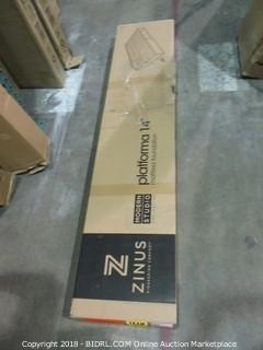 Full Zinus Modern Studio 14 Inch Plaform Bed