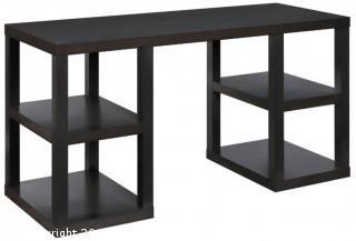 Ameriwood Home Parsons Deluxe Desk, Espresso (Retail $126.00)