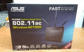 ASUS Dual Band Gigabit Router Wireless