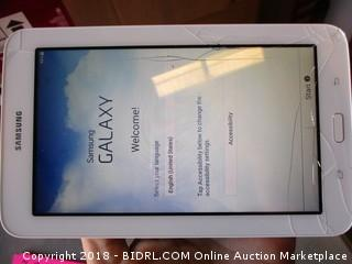 Samsung Galaxy Tab Elite - Damaged