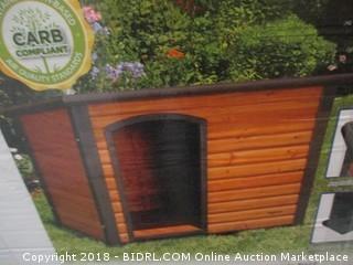 Precision Pet Extreme Log Cabin (Retail $145.00)