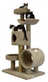 Five Tier Condo/Bed and Cradle Cat Tree - 66 in. (Retail $422.00)