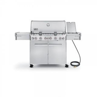 Weber Summit 7470001 S-670 Stainless-Steel 769-Square-Inch 60,800-BTU Natural-Gas Grill (Retail $2,529.00)