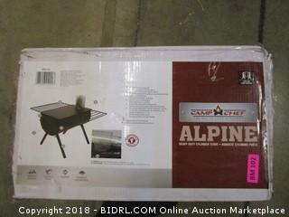 Camp Chef Alpine CS14 Heavy Duty Cylinder Tent Cabin Stove with damper and side shelves (Retail $204.00)