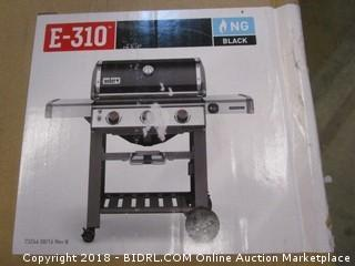 Weber 66010001 Genesis II E-310 Natural Gas Grill, Black (Retail $699.00)