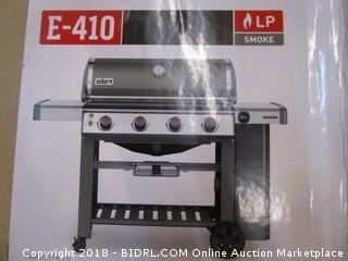 Weber 62050001 Genesis II E-410 Liquid Propane Grill, Smoke (Retail $899.00)