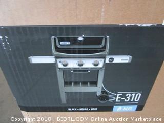 Weber 49010001 Spirit II E-310 Gas Grill NG Outdoor, Black (Retail $499.00)