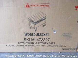 World Market Bryant Mobile Kitchen Cart