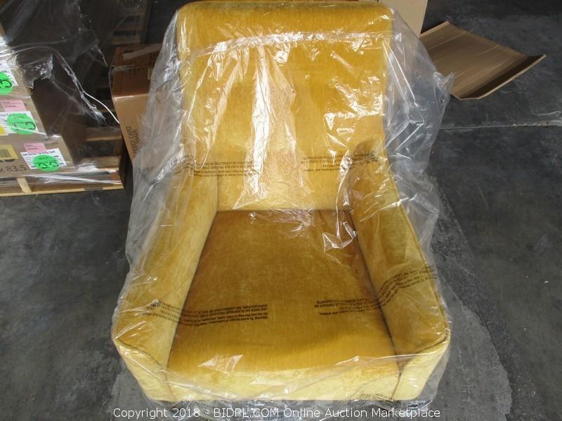 Taryn Chair French Yellow