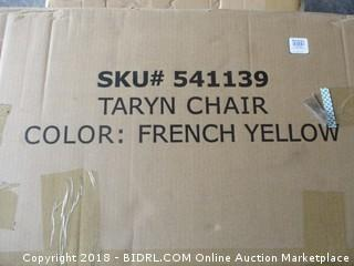 Taryn Chair French Yellow