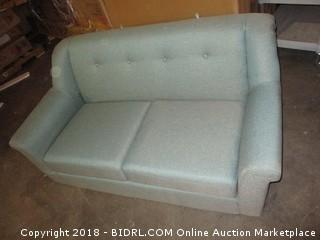 World Market Kaira Loveseat Small Damage