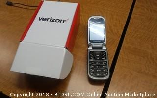 Verizon  Powers on