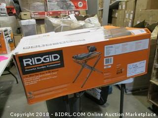 Ridgid Wet Tile Saw with Stand
