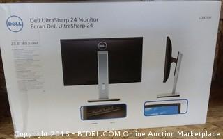 Dell Ultra Sharp 24 Monitor Powers on