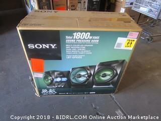 Sony Total 1800w RMS Sound Pressure Horn