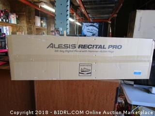 Alesis Recital Pro 88 Key Digital Piano with Hammer Action Keys