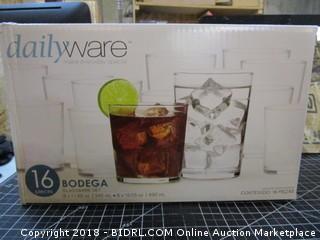 Dailyware Bodega Glassware