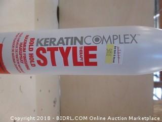 Keratin Complex Style