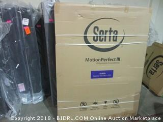 Serta Motion Perfect III Adjustable Foundation Queen MSRP $3500.00