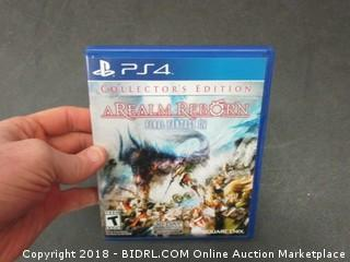 PS4 A Realm Reborn Game