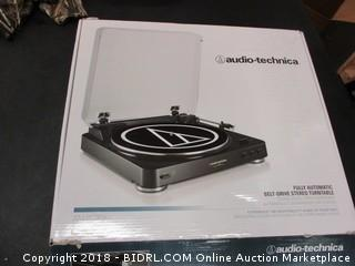Audio Technica Fully Automatic Stereo Turntable- No Power
