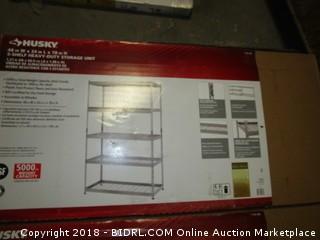 5 Shelf Storage Unit