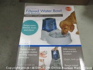 Filtered Water Bowl
