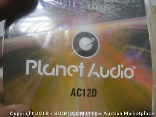 Planet Audio Speaker