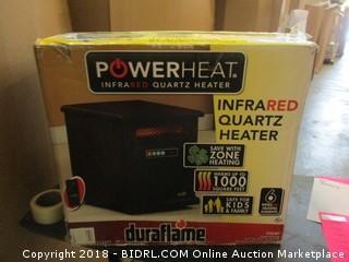 Power Heat Infrated Quartz Heater