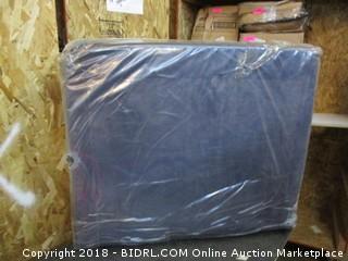 Twin Tri Fold Poly cotton mesh Navy