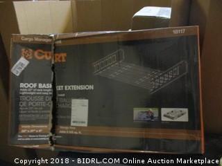 Curt Autop Roof Basket Extensin