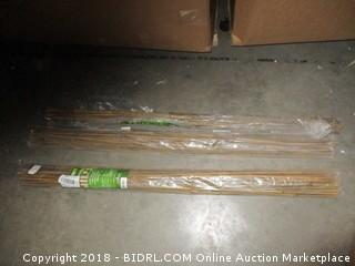 Grow it Bamboo Plant Stakes / one stake damaged