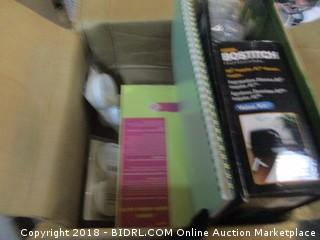 Box Lot Various Items