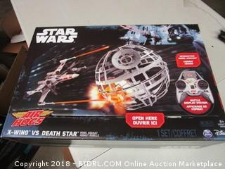 Star Wars Air Hogs X Wing Vs. Death Star