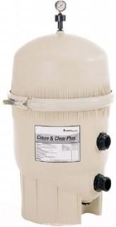 Pentair 160332 Clean & Clear Plus Fiberglass Reinforced Polypropylene Tank Cartridge Pool Filter, 520 Square Feet, 150 GPM (Residential) (Retail $978.00)