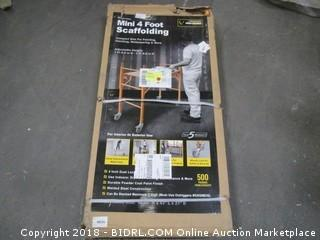 "Pro Series GSSIM 4"" Mini Multipurpose Scaffolding (Retail $119.00)"