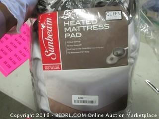 Heated Mattress pad- Queen