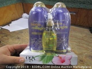 OGX Shampoo & Conditioner  and Oil Mist