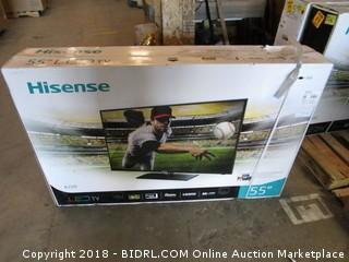"""HIsense 55"""" LED TV"""