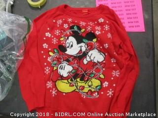 Disney Sweater - Sz L