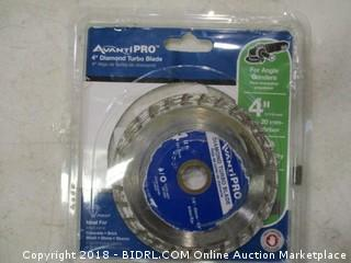 AvantiPro diamond turbo blade