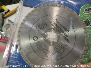 AvantiPro diamond turbo blade
