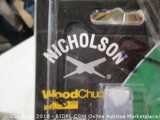 Nicholson wood chisels