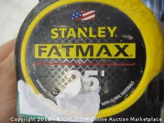 Stanley measuring tape
