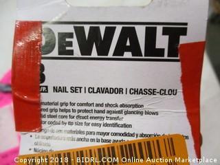 DeWalt nail set