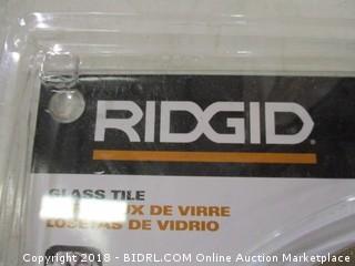 Ridgid glass/tile diamond blade