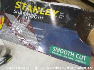 Stanley sharptooth smooth cut saw