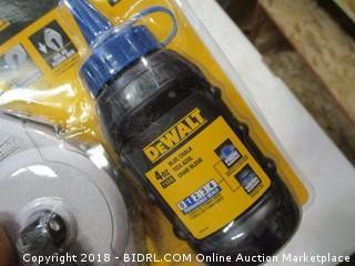 DeWalt chalk reel kit