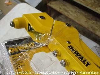 DeWalt swivel head riveter